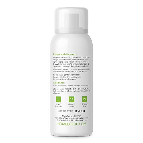 Amazon Homebiotic All Natural Organic Probiotic Spray Cleanser