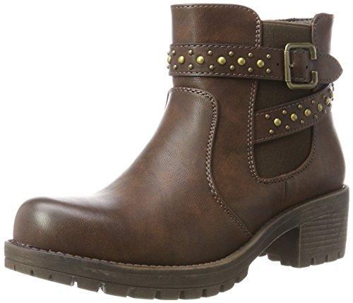 Black Boots Brown XTI Women's 047429 Brown Chelsea nTRZqIWZ
