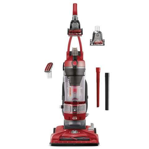 Hoover T-Series WindTunnel Pet Rewind Bagless Corded Upright Vacuum UH70214PC, (Dirt Devil Stick Vac)