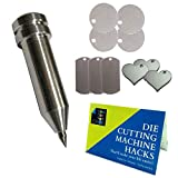 Chomas Creations Maker-Explore Precision Tip Tool, Stamping Blanks: Round, Dog Tags and Heart, and Die Cutting Machine Hack Guide