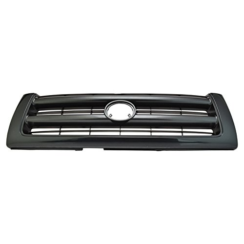 (Black Front End Grill Grille for 97-00 Toyota Tacoma Pickup Truck)