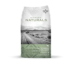 Diamond Naturals Adult Large Breed Real Meat Recipe Premium Dry Dog Food With Real Pasture Raised Lamb Protein 40Lb