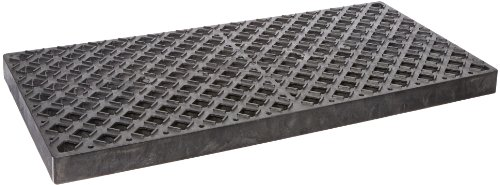 UltraTech 0420 Replacement Polyethylene Grate, 4' Length x 2' Width, Black, For Ultra-Containment Trays (Ultra Containment Tray)