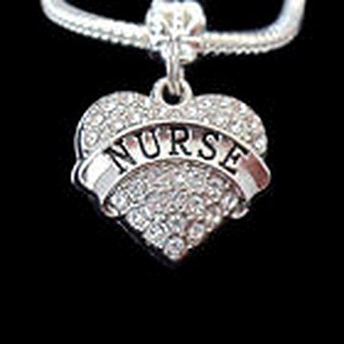Glamorise Beads #14853 Dance Charm Fits European style Bracelet and necklace Dancer charm Dancer gift]()