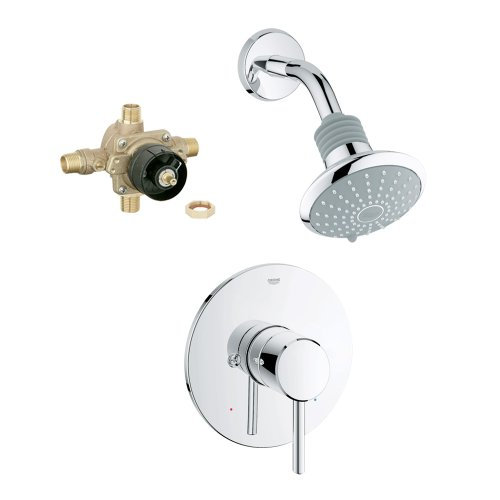 Grohe K35010-35015R-001 Concetto Shower Combination with Rough-In