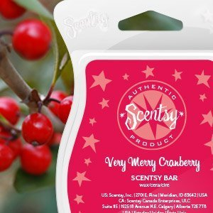 Scentsy Bar Very Merry Cranberry