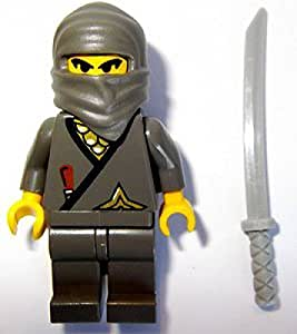 Lego Ninja Gray Ninja Minifigure