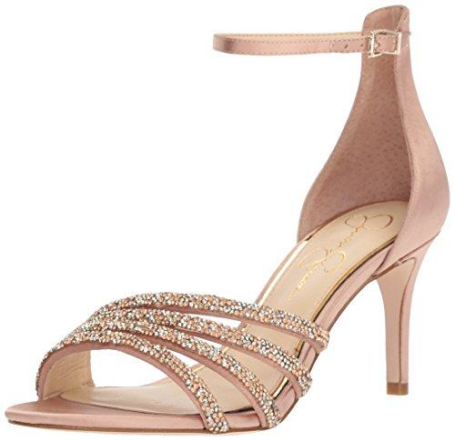 Jessica Simpson Women's PAVENY Heeled Sandal, Nude Blush, 8 Medium US