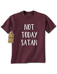 Expression Tees Not Today Satan Mens T-shirt