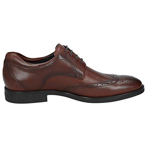 Sioux Forkan-XL, Scarpe Stringate Brouge Uomo Marrone (Cafe 003)