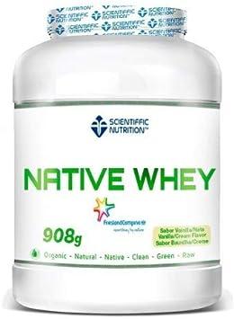 Native Whey 908g Vainilla/Nueces