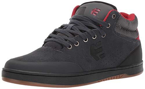 Men's Us Marana Shoe Mid Crank Dark 10 Medium Etnies Skate Greyblackred UMpGLqSzV