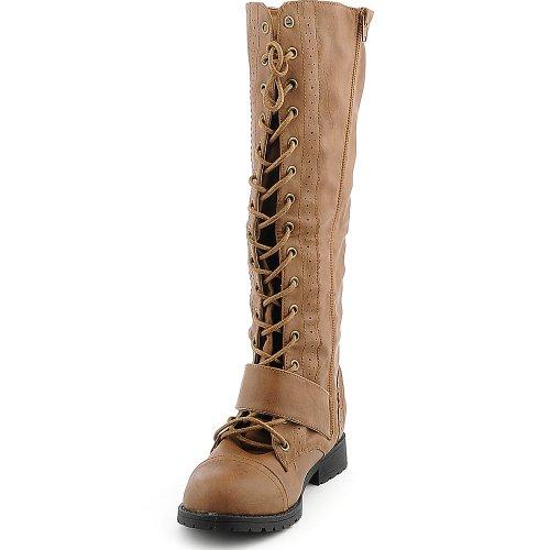 Glazuur Dames Natalia-1 Boot Camel
