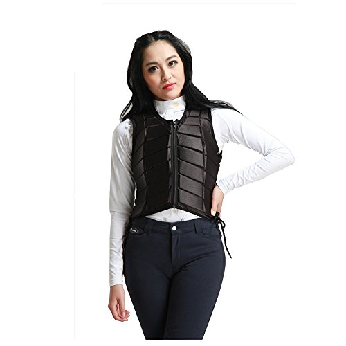 GFDHHNN Horse Riding Equestrian Body Protector Safety Eventer Vest Protection Protective (Black, L) by GFDHHNN (Image #7)