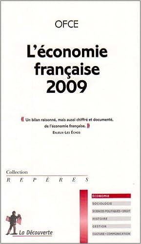 En ligne L'économie française 2009 epub, pdf