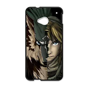 Happy Magical wolf and man Cell Phone Case for HTC One M7