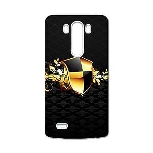 Black Fashion Shield Custom Protective Hard Phone Cae For LG G3