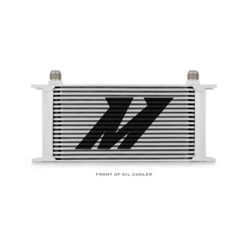 Mishimoto MMOC-19 Universal 19 Row Oil Cooler, Silver