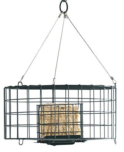 quirrel Resistant Double Suet Cage ()