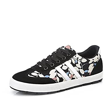 Amazon.com | Sports style floral casual running shoe/Flat