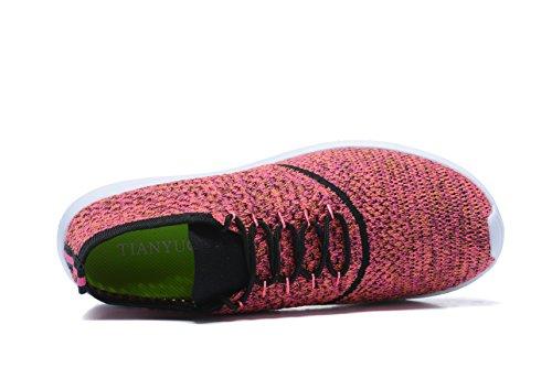 de Sintético Red Kenswalk Zapatillas para Running Material Hombre de wpza8vxca