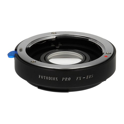 Fotodiox Pro Lens Mount Adapter - Fuji Fujica X-Mount 35mm (FX35) SLR Lens to Canon EOS (EF, EF-S)