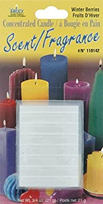 Yaley Concentrated Candle Scent Blocks, 0.75-Ounce, Winterberries from Yaley