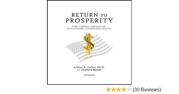 Amazon Return To Prosperity How America Can Regain Its