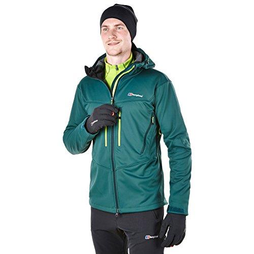 Berghaus pour homme Winter Valparola Gore Windstopper Softshell pour homme (XL) et Little Hotties Chauffe-mains (Une paire)