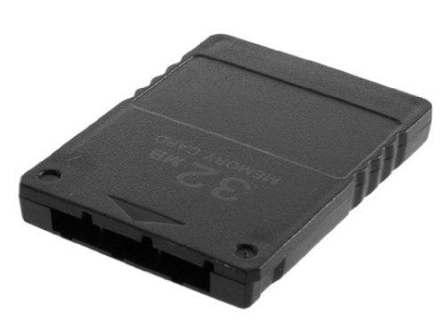 Playstation 2 PS2 Black Memory Card - 32mb 32 mb .  by PS...