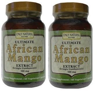 ONLY NATURAL ULT AFRICAN MANGO DIET, 2/60 VCAP by Only Natural