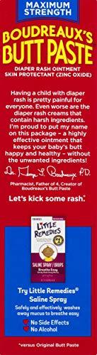 Boudreaux's Butt Paste Diaper Rash Ointment | Maximum Strength
