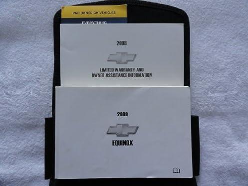 2008 chevrolet chevy equinox owners manual chevrolet automotive rh amazon com Chevy Equinox Repair Manual Chevy Equinox Repair Manual