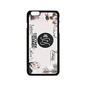 SKULL 5 Seconds Of Summer Fashion Comstom Plastic case cover For Iphone 6