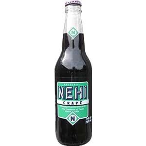 Amazon Com Nehi Grape 12 Oz Glass Bottles 6 Pack