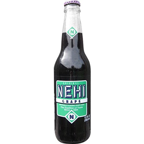 Oz Glass 12 Soda (Nehi Grape 12 Oz Glass Bottles (6 Pack))