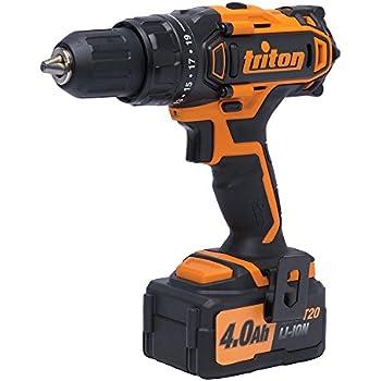 Triton T20DD 20V Compact Drill Driver