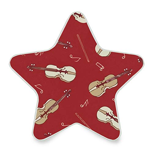 Music Violin Red Note Plug-in LED Night Light