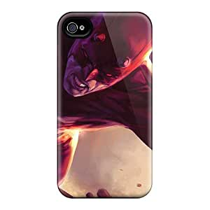 Great Hard Phone Covers For Iphone 4/4s With Support Your Personal Customized HD Daredevil I4 Skin SherriFakhry