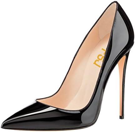 306d6748bcb FSJ Women Fashion Pointed Toe Pumps High Heel Stilettos Sexy Slip On Dress  Shoes Size 5