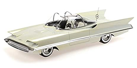 Amazon Com 1955 Lincoln Futura Concept In Pearlescent Frost White 1