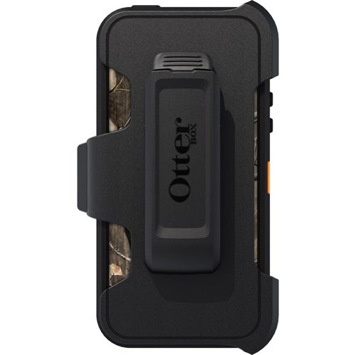OtterBox Defender Series Case for iPhone 5 - Frustration-Free Packaging - Realtree Camo - AP Orange
