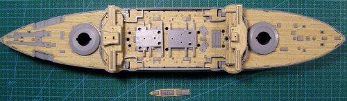 ピットロード 1/350 日 潜水艦 伊-400用木製甲板 タミヤ社78019用