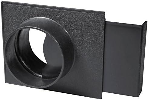 POWERTEC 70108 4-Inch Blast Gate for Vacuum/Dust Collector - Vacuum And Dust Collector Accessories - Amazon.com