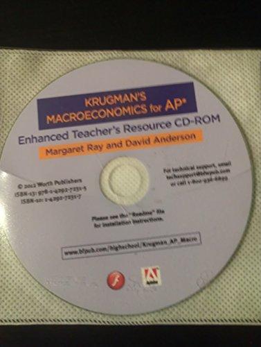Krugman's Macroeconomics for AP Enhanced Teacher's Resource CD-ROM