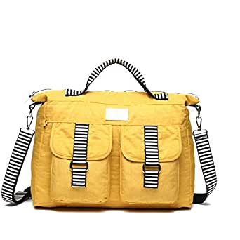 Mindesa Shoulder Bags for Women - Yellow (8569)