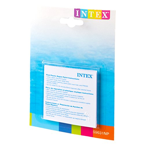 Intex Wet Vinyl Plastic Repair Patch. 6 Count