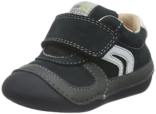 Geox B Tutim C, Zapatos de Bebé para Bebés Blau (NAVY/DARK GREYC0718)