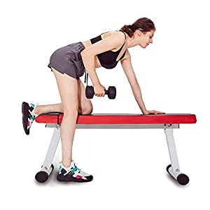 Weight Bench – Foldable Strength Training Bench,Suitable For Full Body Exercise