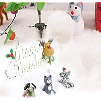 SHREEJISORB Sodium Polyacrylate Artificial Snow for Chrismas Decoration